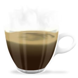 256x256px size png icon of coffee cup
