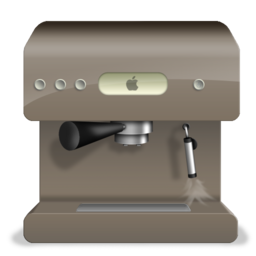 256x256px size png icon of coffee machine