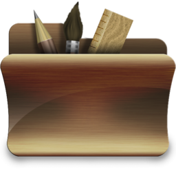 256x256px size png icon of folder applications