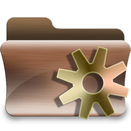 256x256px size png icon of folder smart