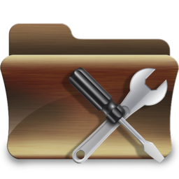 256x256px size png icon of folder utilities