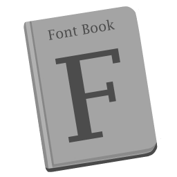 256x256px size png icon of Font Book