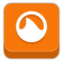256x256px size png icon of grooveshark