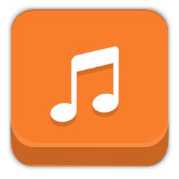 256x256px size png icon of multimedia audio player