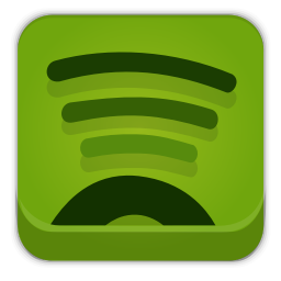 256x256px size png icon of spotify