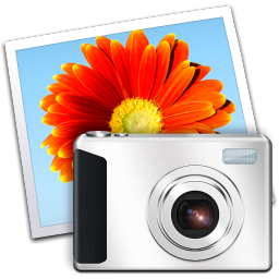 256x256px size png icon of Windows Live Gallery
