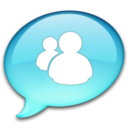 256x256px size png icon of Windows Live Messenger
