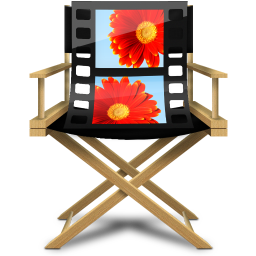 256x256px size png icon of Windows Live Movie Maker
