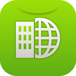 256x256px size png icon of global market