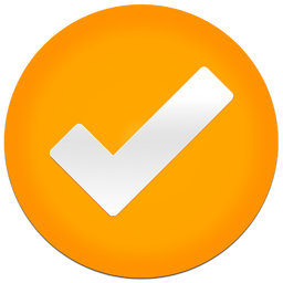 256x256px size png icon of Clear Tick
