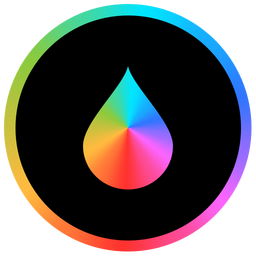 256x256px size png icon of Pixelmator