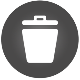 256x256px size png icon of Trash 2