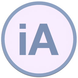 256x256px size png icon of iA