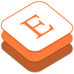 256x256px size png icon of Etsy