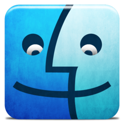 256x256px size png icon of Dock Finder Alt