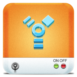 256x256px size png icon of Drives Firewire
