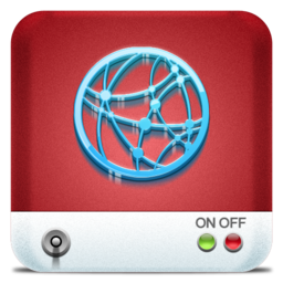 256x256px size png icon of Drives Network