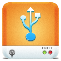 256x256px size png icon of Drives USB HD