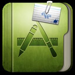 256x256px size png icon of Folder Aplication Folder