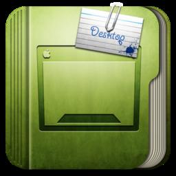 256x256px size png icon of Folder Desktop Folder