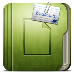 256x256px size png icon of Folder Documtents Folder