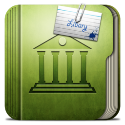 256x256px size png icon of Folder Libary Folder