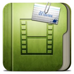 256x256px size png icon of Folder Movie Folder