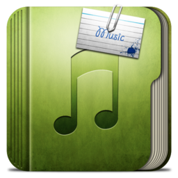 256x256px size png icon of Folder Music Folder