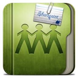 256x256px size png icon of Folder Sharepoint Folder