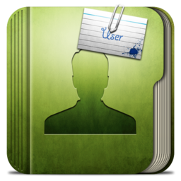 256x256px size png icon of Folder User Folder