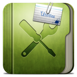 256x256px size png icon of Folder Utilities Folder