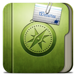 256x256px size png icon of Folder websites Folder
