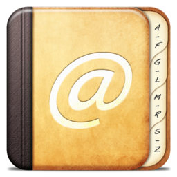 256x256px size png icon of Misc Adress book