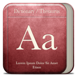 256x256px size png icon of Misc Dictionary
