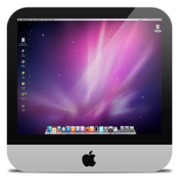 256x256px size png icon of Misc iMac
