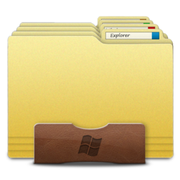 256x256px size png icon of Explorer