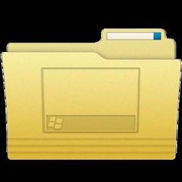 256x256px size png icon of Folders Desktop Folder