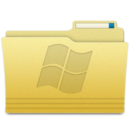 256x256px size png icon of Folders Windows Folder