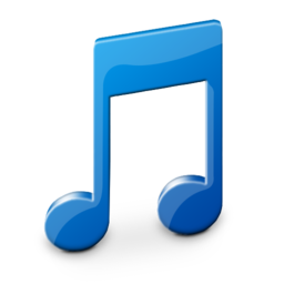 256x256px size png icon of Music Library