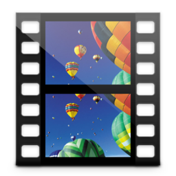 256x256px size png icon of Videos Library