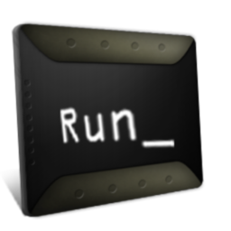 256x256px size png icon of Run