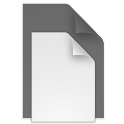 256x256px size png icon of (toolbar) documents black