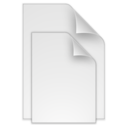 256x256px size png icon of (toolbar) documents