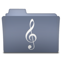 256x256px size png icon of Music (variant)
