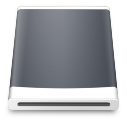 256x256px size png icon of Removable