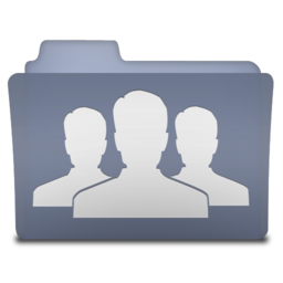 256x256px size png icon of group users