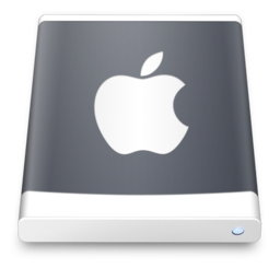 256x256px size png icon of hard drive 2