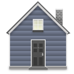 256x256px size png icon of home