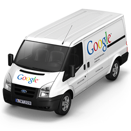 256x256px size png icon of Google Van Front