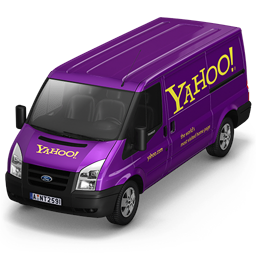 256x256px size png icon of Yahoo Van Front
